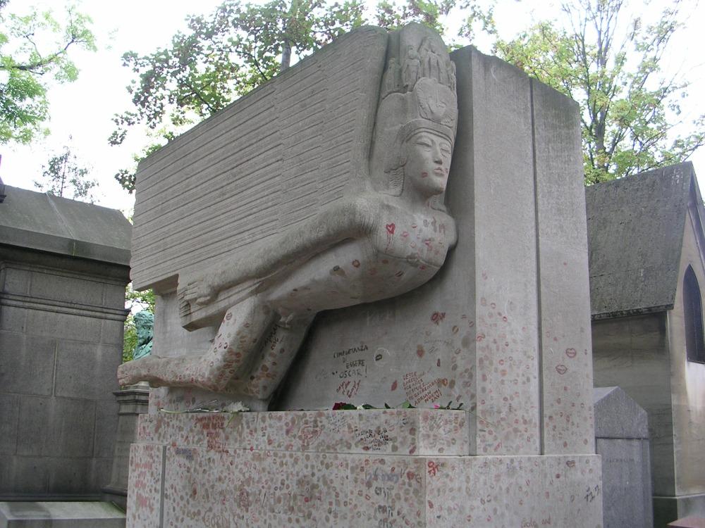 Oscar Wilde's tomb by Jacob Epstein (1/2)