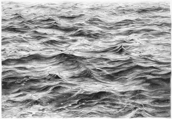 Ocean Pencil DrawingOcean Water Drawing