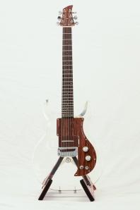 Ampeg Dan Armstrong Acrylic guitar...