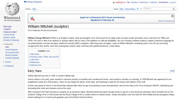 Bill wiki page