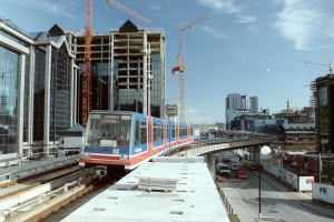 The DLR and London Docklands (before anyone took them seriously...)