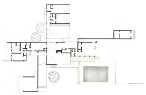 Kaufmann House floor plan