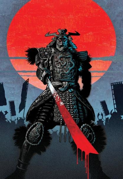 Samurai Megazine cover