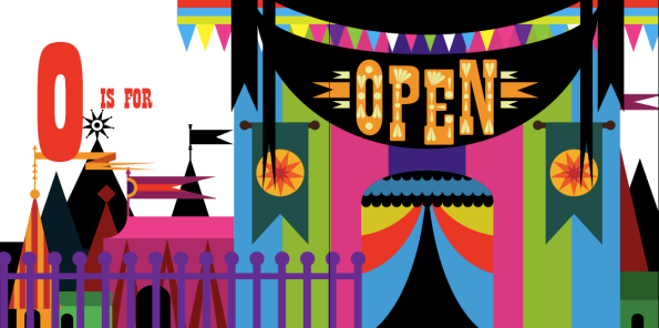 O is for Open