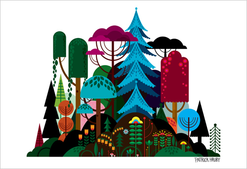 size500_prints_PatrickHruby_Imaginary Forest_main