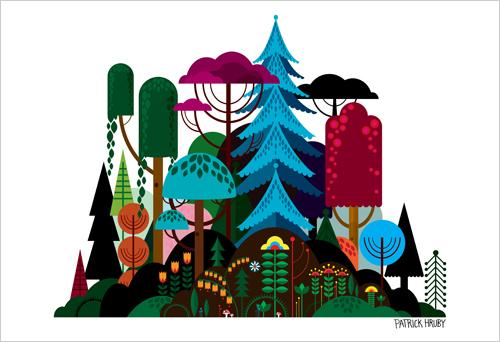 size500_prints_PatrickHruby_Imaginary Forest_main