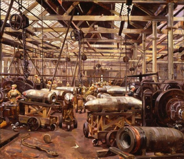 Anna Airy: Official WW1 Artist.