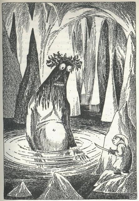 Artwork inspired by Tolkien - Page 29 Hobbit-illustration-tove-jannson-03